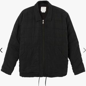 RVCA Carton Quilted Jacket - XS - Black